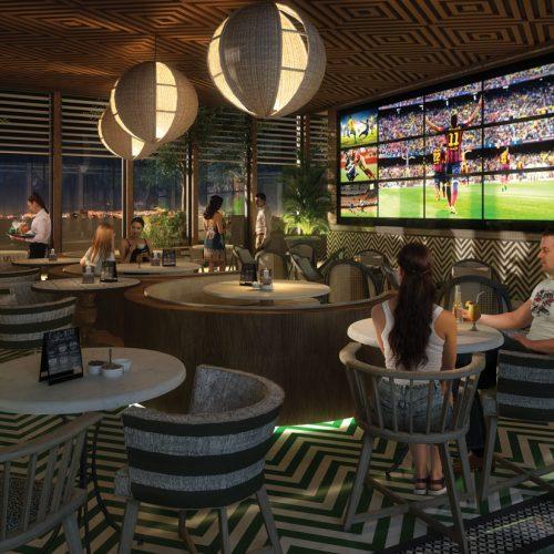 Sports Bar interior